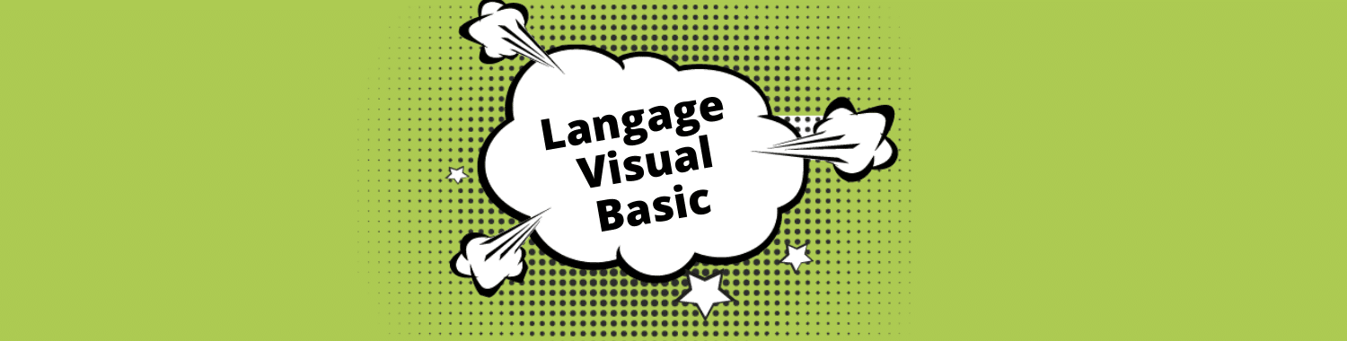 langage visual basic